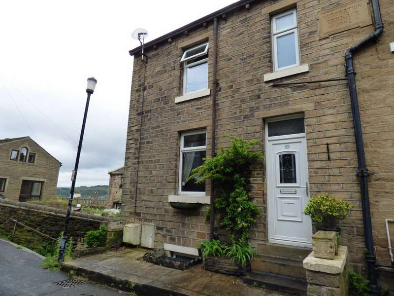 2 Bedrooms End Of Terrace House for sale in Handel Street, Golcar, Huddersfield, West Yorkshire, HD7