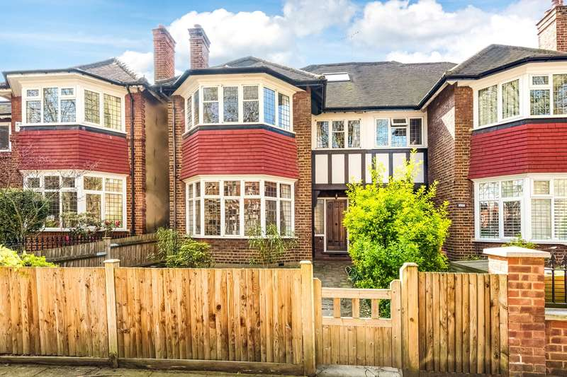5 Bedrooms Semi Detached House for sale in Barrowgate Road, London, W4