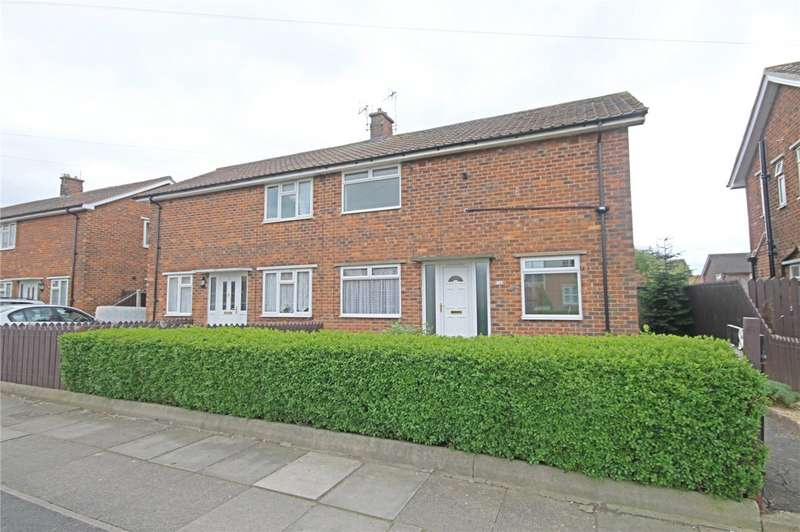 3 Bedrooms Semi Detached House for sale in Carlton Moor Crescent, Darlington, County Durham, DL1
