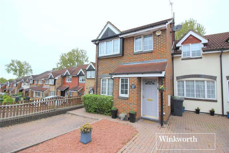 4 Bedrooms Semi Detached House for sale in Robeson Way, Borehamwood, Hertfordshire, WD6
