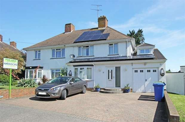 4 Bedrooms Semi Detached House for sale in Manor Grove, Sittingbourne, Kent