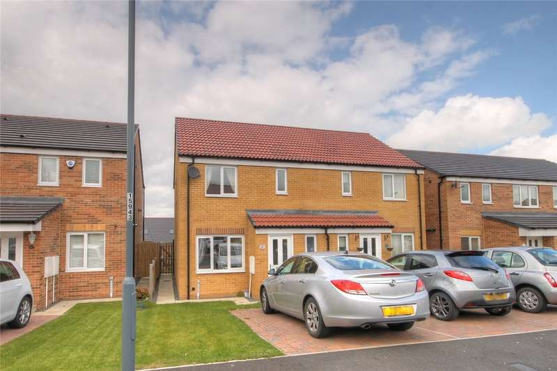 3 Bedrooms Semi Detached House for sale in Dixon Way, Coundon, Bishop Auckland, DL14
