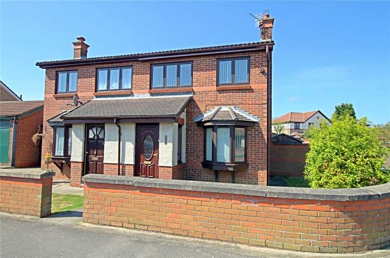 3 Bedrooms Semi Detached House for sale in Pemberton Road, Woodham, Durham, DL5