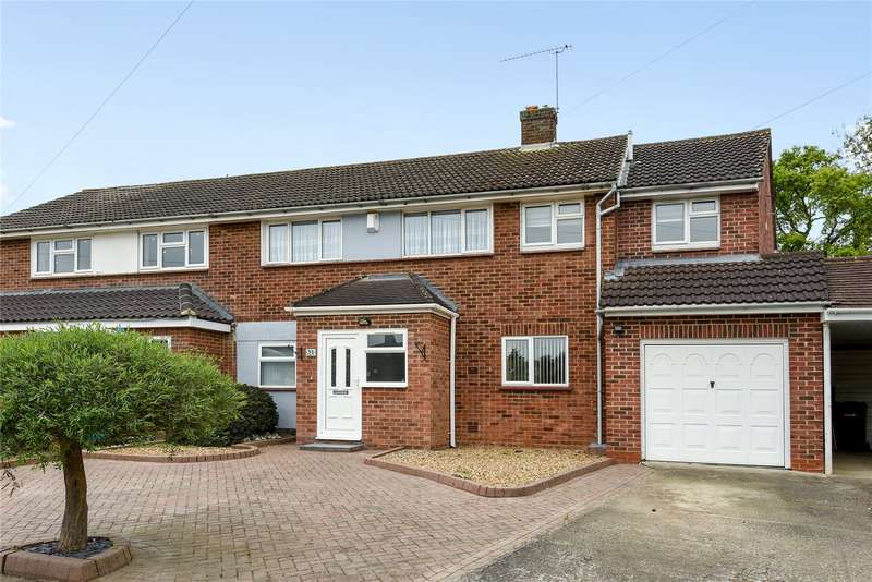 4 Bedrooms Semi Detached House for sale in Hornbeam Road, Theydon Bois, Epping, Essex, CM16
