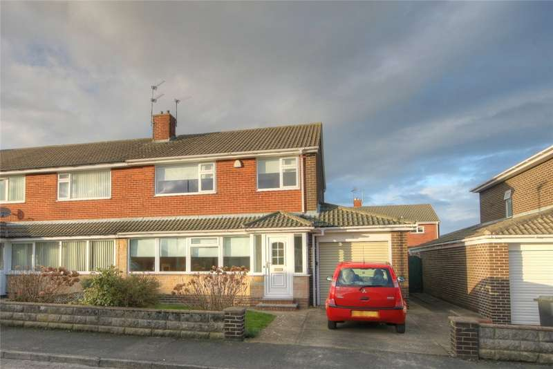 3 Bedrooms Semi Detached House for sale in Walmer Avenue, Bishop Auckland, County Durham, DL14