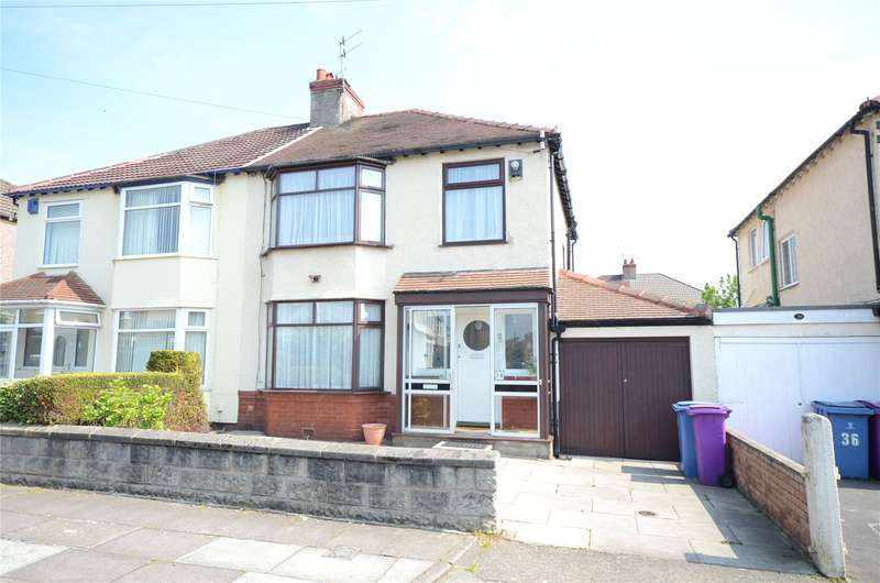3 Bedrooms Semi Detached House for sale in Ryegate Road, Grassendale, Liverpool, L19