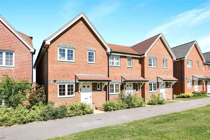 2 Bedrooms End Of Terrace House for sale in Elk Path, Three Mile Cross, Reading, Berkshire, RG7