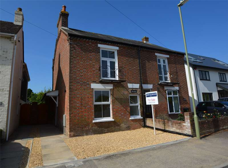 2 Bedrooms Semi Detached House for sale in Spring Road, Lymington, Hampshire, SO41