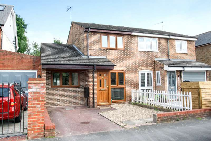 3 Bedrooms Semi Detached House for sale in Old Dairy Cottages, Claremont Road, Staines-upon-Thames, Surrey, TW18