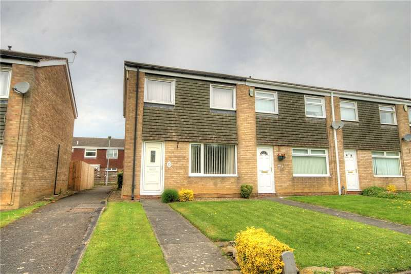 3 Bedrooms End Of Terrace House for sale in Redmires Close, Ouston, Chester Le Street, DH2