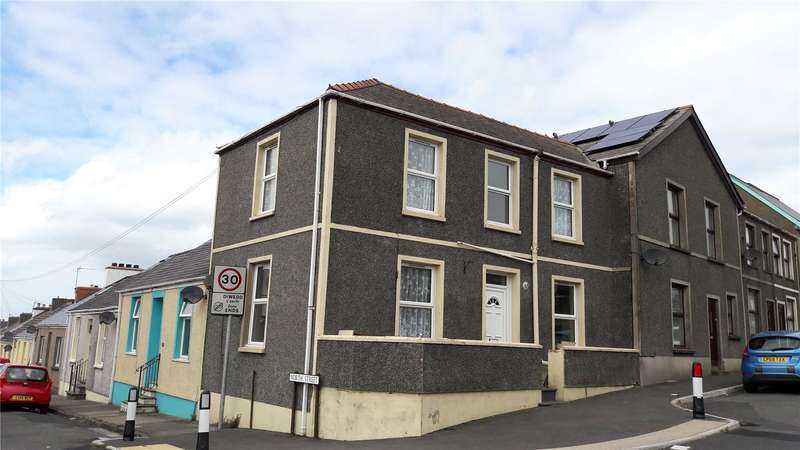 2 Bedrooms End Of Terrace House for sale in North Street, Pembroke Dock, Pembrokeshire