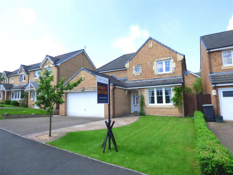 4 Bedrooms Detached House for sale in Kingfisher Way, Glossop, Simmondley, SK13