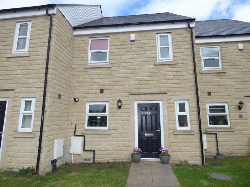 3 Bedrooms Terraced House for sale in Kandel Court, Whitworth, Rochdale, OL12