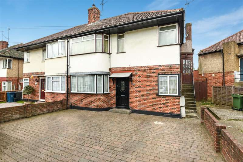 3 Bedrooms Maisonette Flat for sale in Shaftesbury Avenue, South Harrow, Harrow, HA2
