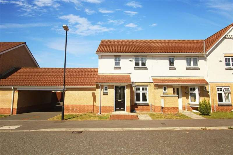 2 Bedrooms Property for sale in Housesteads Gardens, Longbenton, Newcastle Upon Tyne
