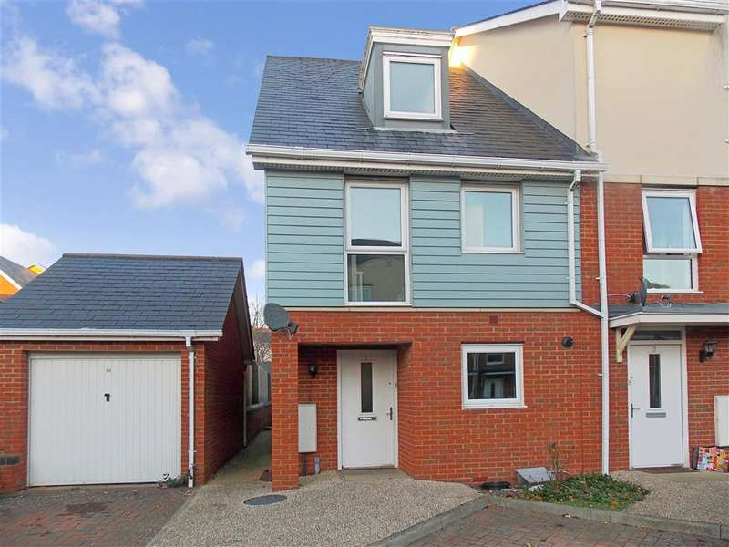 3 Bedrooms End Of Terrace House for sale in Barrow Gardens, Redhill, Surrey