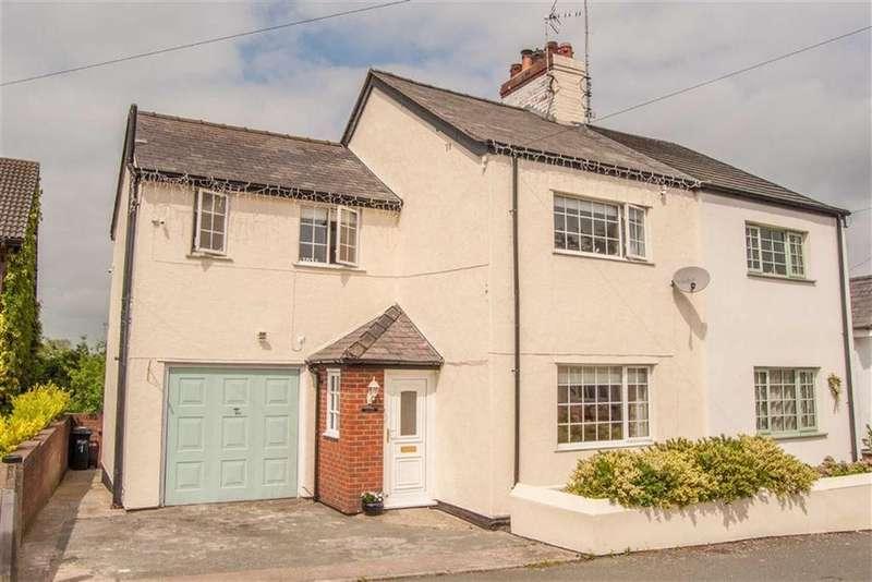 3 Bedrooms Semi Detached House for sale in Penymynydd Road, Penymynydd, Flintshire, Chester, Flintshire