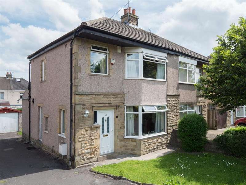 3 Bedrooms Semi Detached House for sale in Leeds Road, Eccleshill, Bradford, BD2 3BA