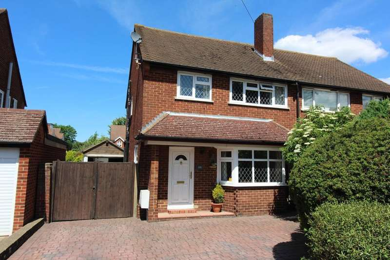 3 Bedrooms Semi Detached House for sale in Charterhouse Road, Orpington, Kent, BR6 9ET