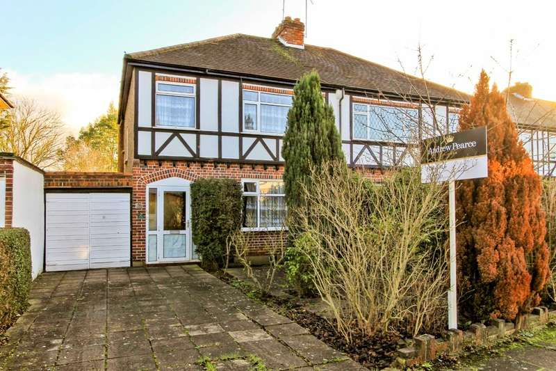 3 Bedrooms Semi Detached House for sale in Dawlish Drive, Pinner