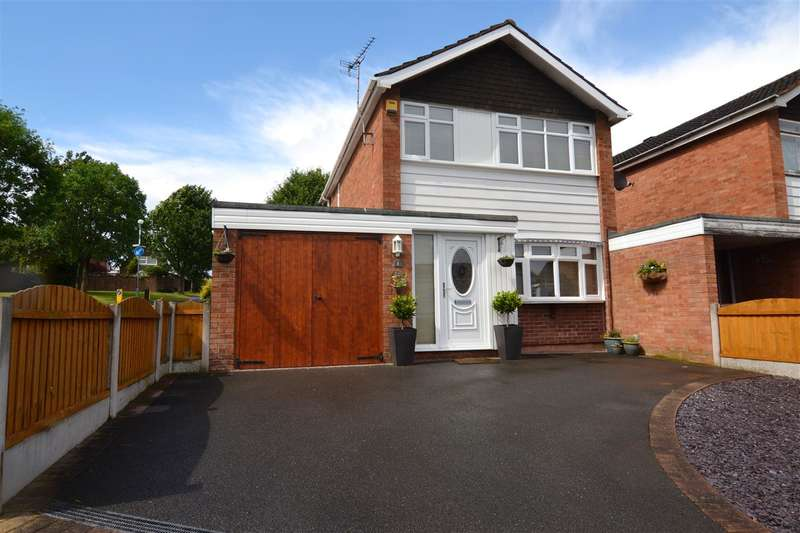 3 Bedrooms Link Detached House for sale in Brackenfield Way, Stafford