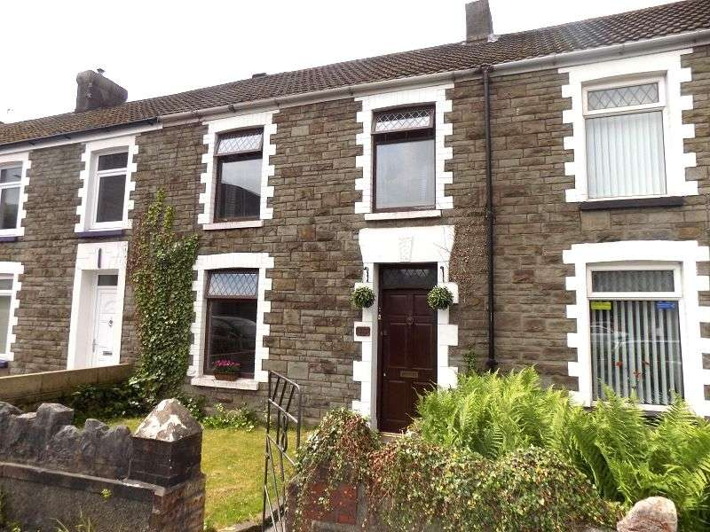 2 Bedrooms Terraced House for sale in Maes-y-cwrt Terrace, Port Talbot, Neath Port Talbot. SA13 1LE