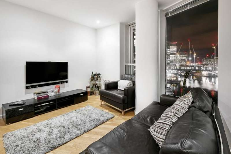 2 Bedrooms Flat for sale in Ability Place, Canary Wharf, E14