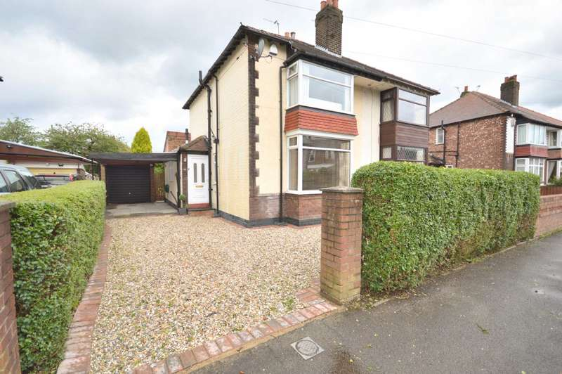 3 Bedrooms Semi Detached House for sale in CROSSWAY, Woodsmoor