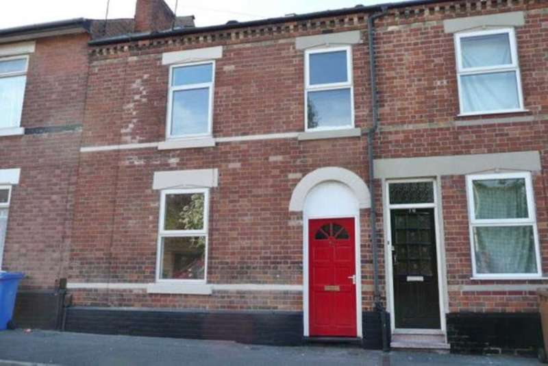 2 Bedrooms Terraced House for sale in Peartree Street, Derby