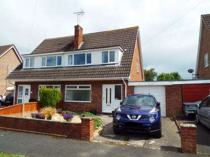 3 Bedrooms Semi Detached House for sale in Daleside, Buckley, Flintshire, CH7