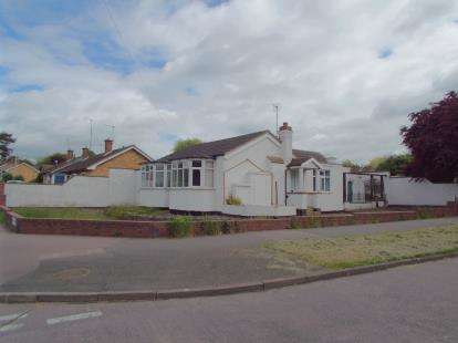 3 Bedrooms Bungalow for sale in Brook Road, Thurnby Lodge, Leicester, Leicestershire
