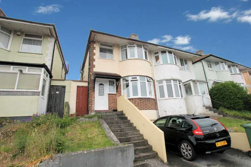 3 Bedrooms Semi Detached House for sale in Cardinal Avenue, St Budeaux, PL5 1UR