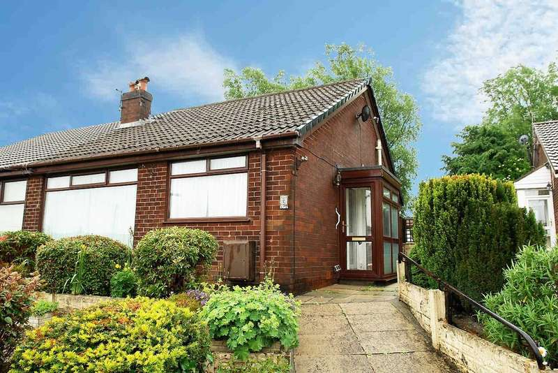 2 Bedrooms Semi Detached Bungalow for sale in Clifton Crescent, Royton