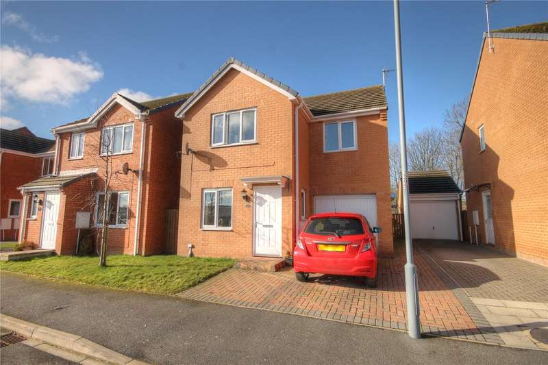3 Bedrooms Detached House for sale in Oakley Manor, West Auckland, Bishop Auckland, DL14