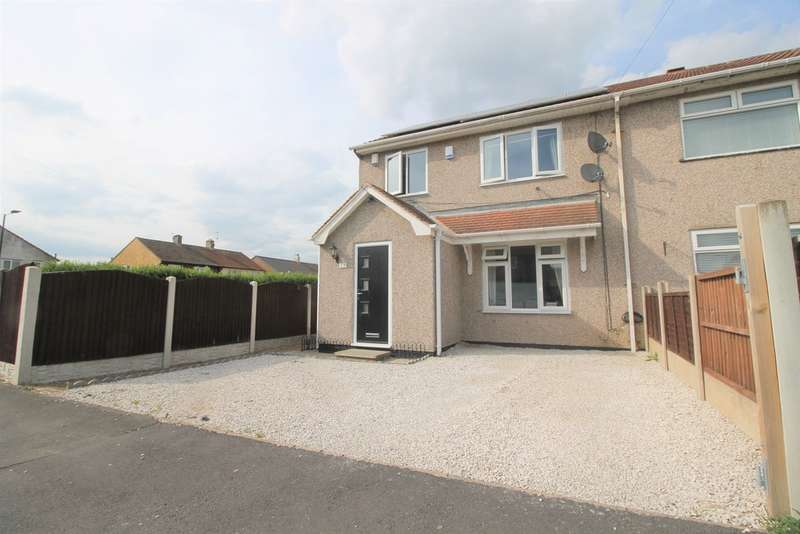 3 Bedrooms Semi Detached House for sale in Chestnut Avenue, Rossington