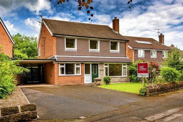 4 Bedrooms Detached House for sale in Princess Gardens, NEWPORT, Shropshire