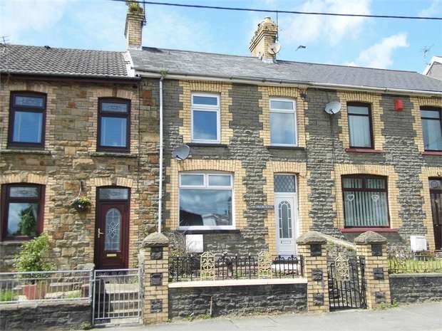 3 Bedrooms Terraced House for sale in Blackmill Road, Bryncethin, Bridgend, Mid Glamorgan