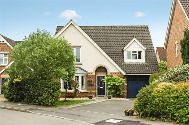 4 Bedrooms Detached House for sale in Egret Gardens, ALDERSHOT, Hampshire