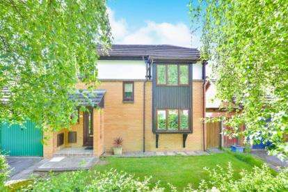 3 Bedrooms Link Detached House for sale in Verdon Drive, Willen Park, Milton Keynes