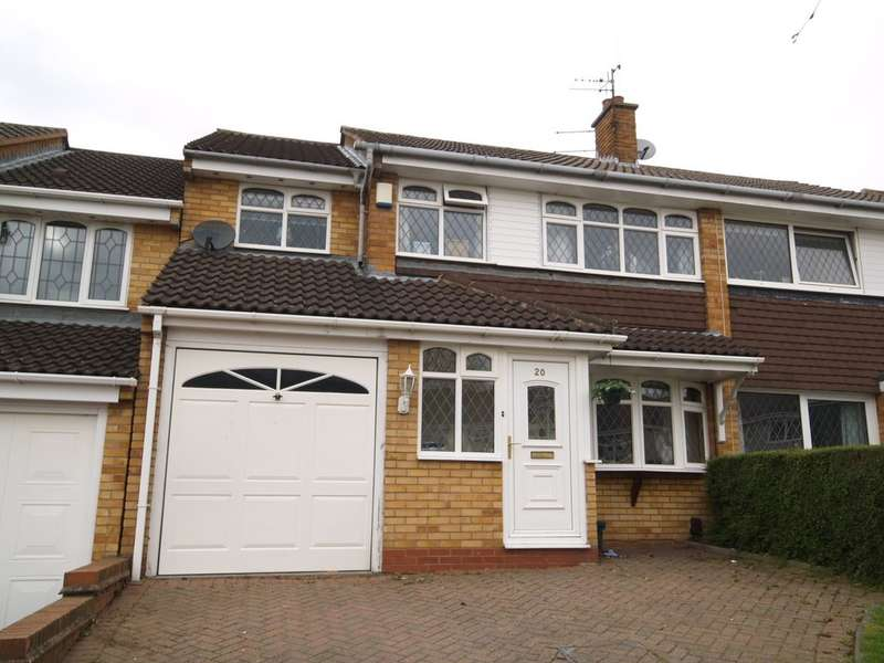 4 Bedrooms Semi Detached House for sale in Awbridge Road, Dudley