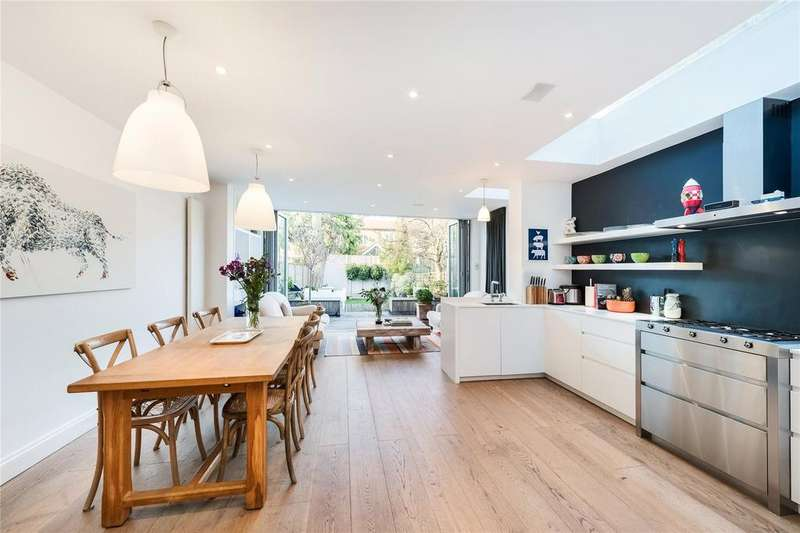 4 Bedrooms Terraced House for sale in Meredyth Road, Barnes, London, SW13