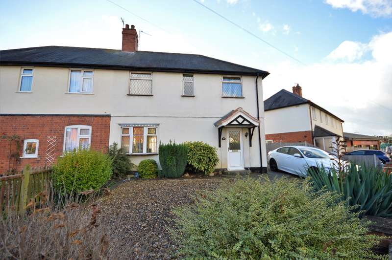 3 Bedrooms Semi Detached House for sale in Moat Street, Wigston, LE18 2GE