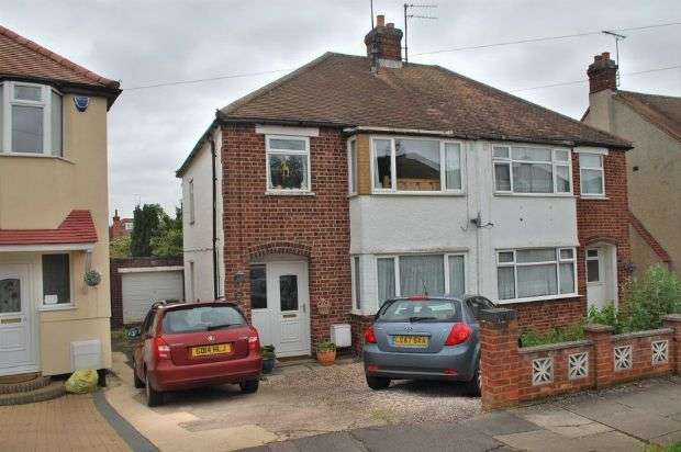 3 Bedrooms Semi Detached House for sale in Windsor Crescent, Duston, Northampton NN5 5AW