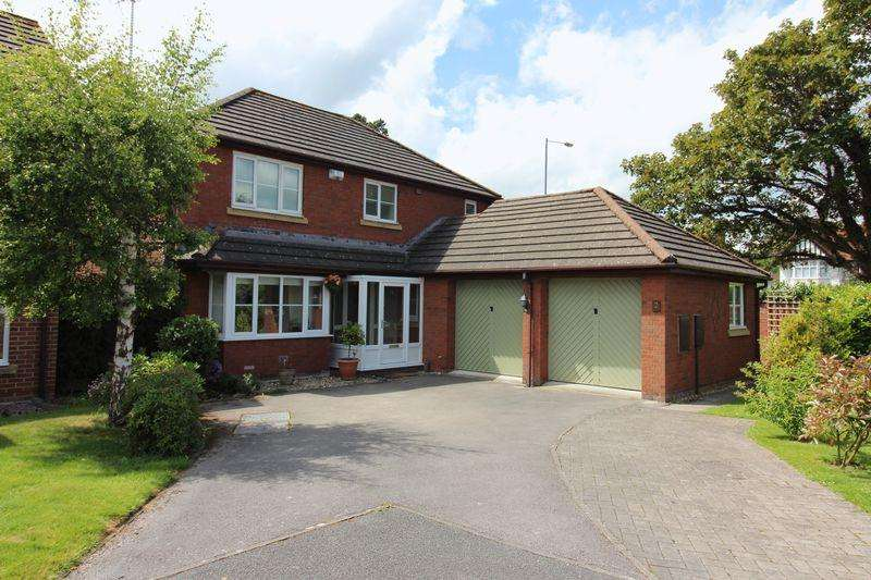 4 Bedrooms Detached House for sale in Rhodfa Mynydd, Mold