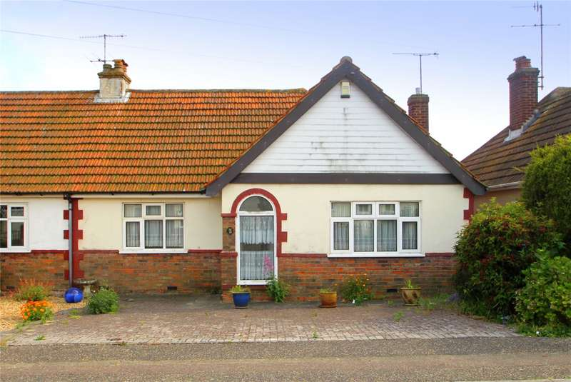 2 Bedrooms Semi Detached Bungalow for sale in Seventh Avenue, North Lancing, West Sussex, BN15