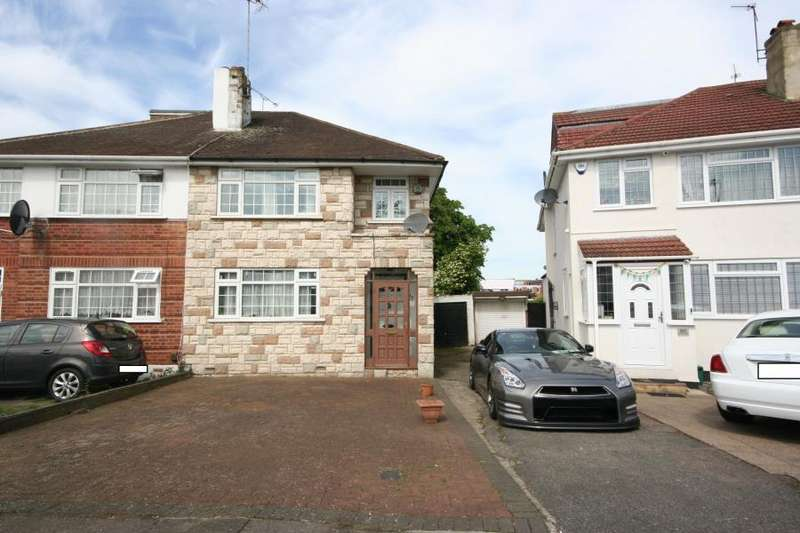 3 Bedrooms Semi Detached House for sale in Chapman Crescent, Kenton HA3 0TF