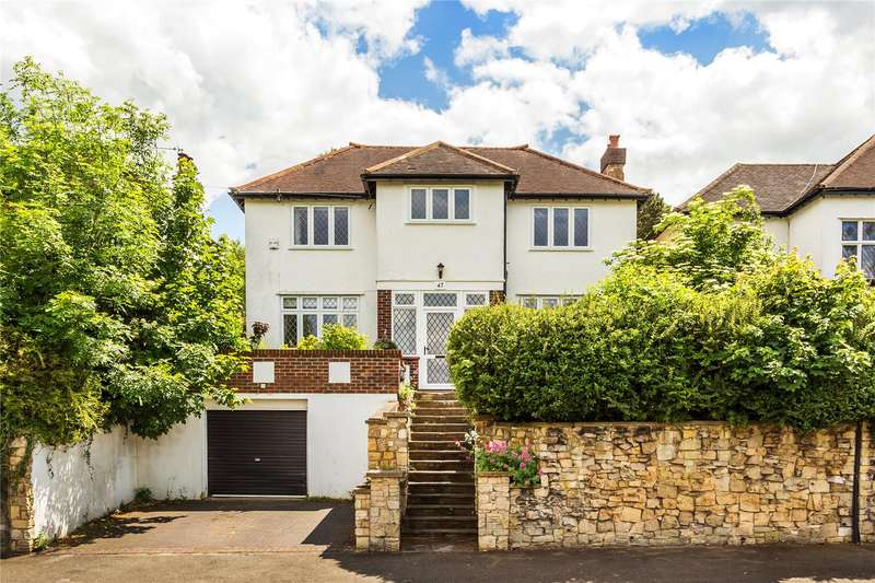 5 Bedrooms Detached House for sale in Hartley Down, Purley, CR8
