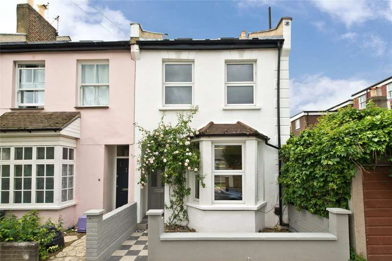 4 Bedrooms End Of Terrace House for sale in Derby Road, London, SW19