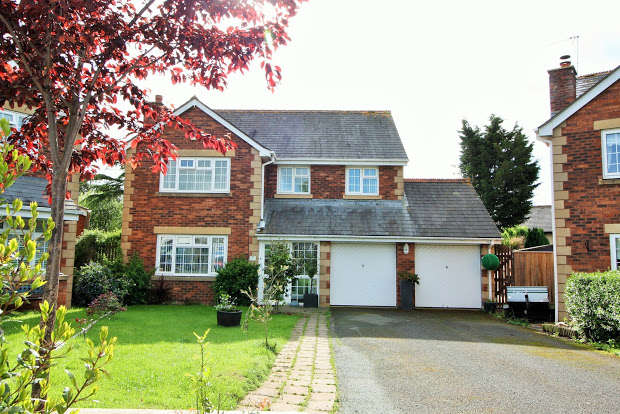 4 Bedrooms Detached House for sale in Vestry Drive, Alphington, Exeter, EX2