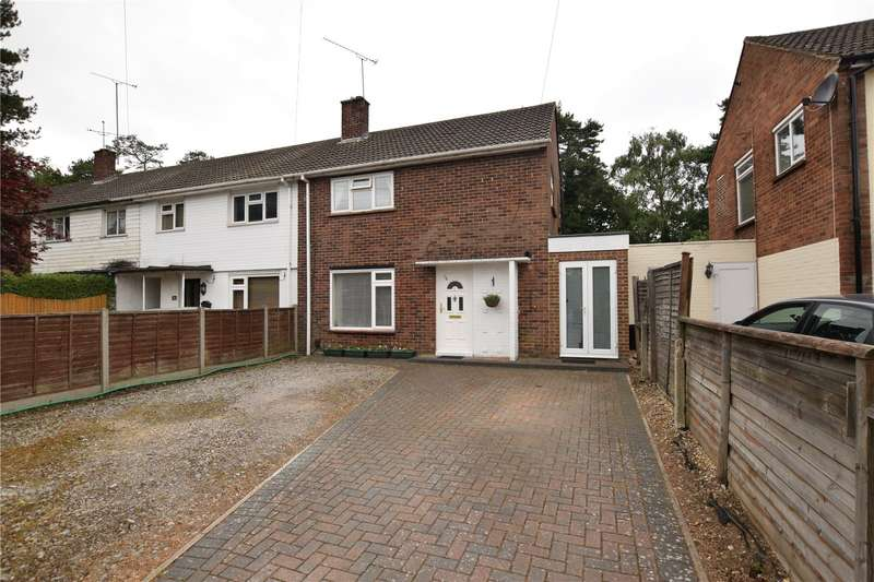 3 Bedrooms Semi Detached House for sale in Carshalton Road, Camberley, Surrey, GU15